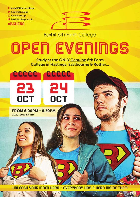 Open Evenings: 23rd and 24th October 2019 For 2020 Entry
