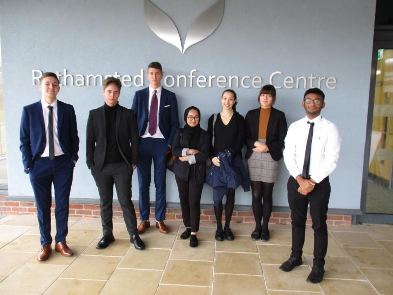 Bexhill College students selected to attend Working Options in Education conference
