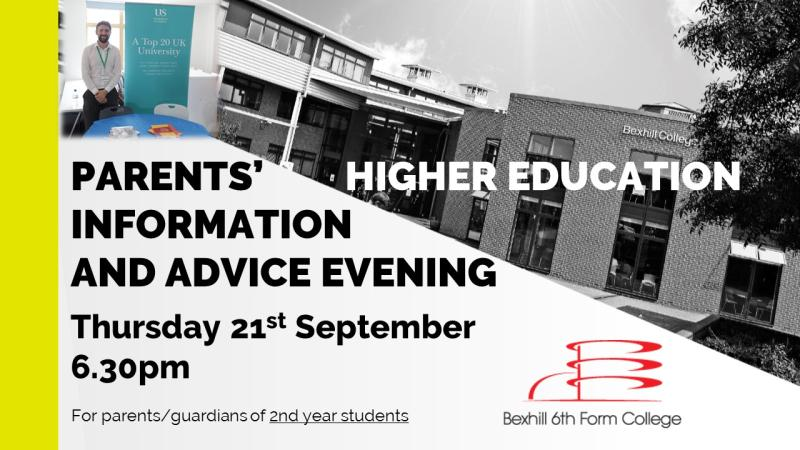 Parents' Higher Education evening