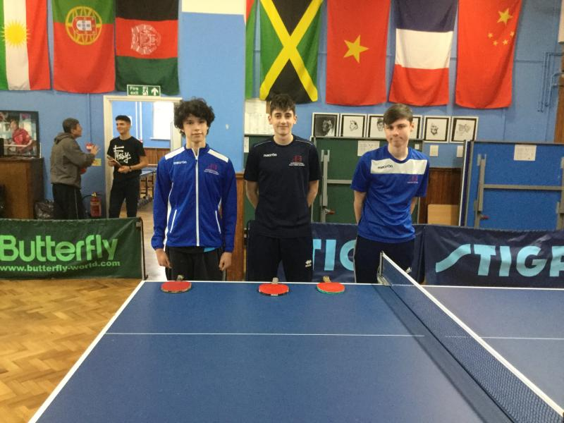 Bexhill College Table Tennis Academy Win East Sussex U19 Championships