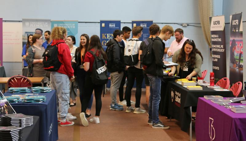 Careers and Progression Day helps Bexhill College students consider options after college