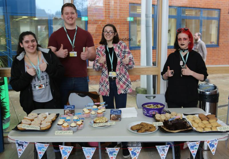 Animal Management Students Raise Money for RSPCA with Vegan Cake Sale