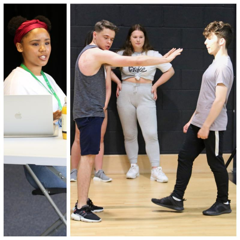 Bexhill College Performing Arts Alumni return to educate and inspire current students
