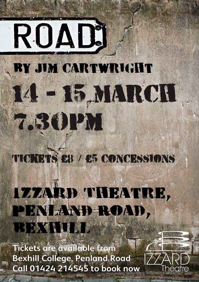 Reminder: Jim Cartwright's Play Road Next Week