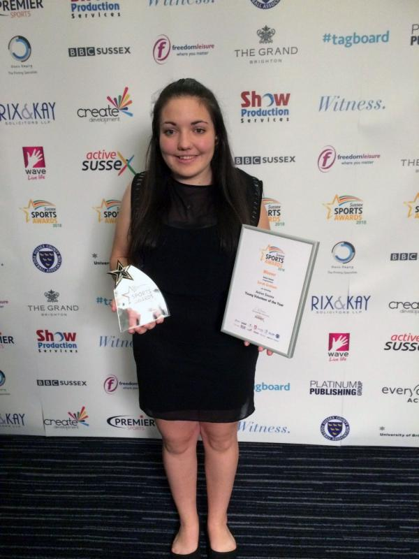 Sport Student Wins Young Volunteer of the Year Award