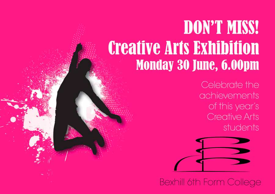 Don't miss Creative Arts Exhibition