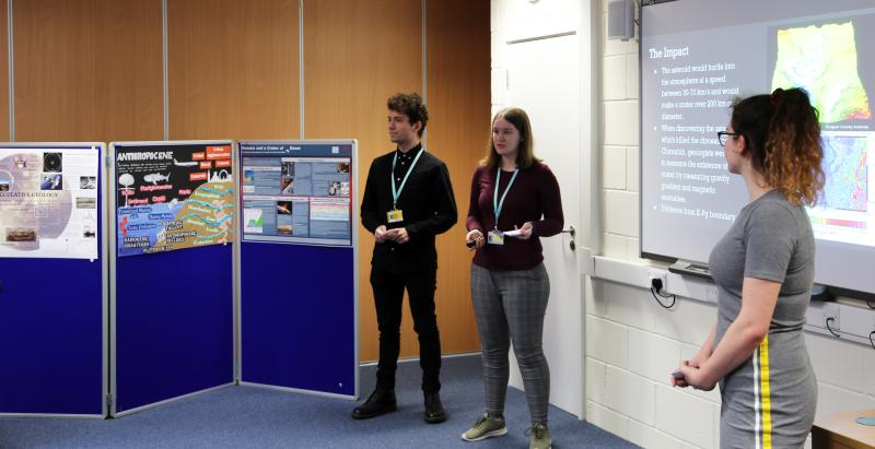 Team of Geology Students win the School's Geology Challenge South East Heats