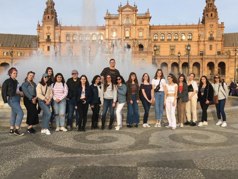 Spanish Students' Study Trip to Seville