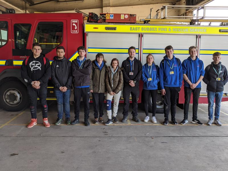 Public Services Students Educate Primary School Children at Safety in Action Event