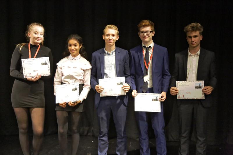 Bexhill 6th Form Students Impress Captains of Industry