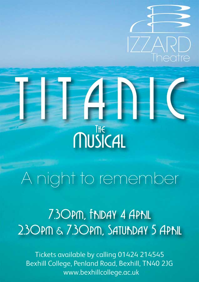 Titanic The Musical THIS WEEK