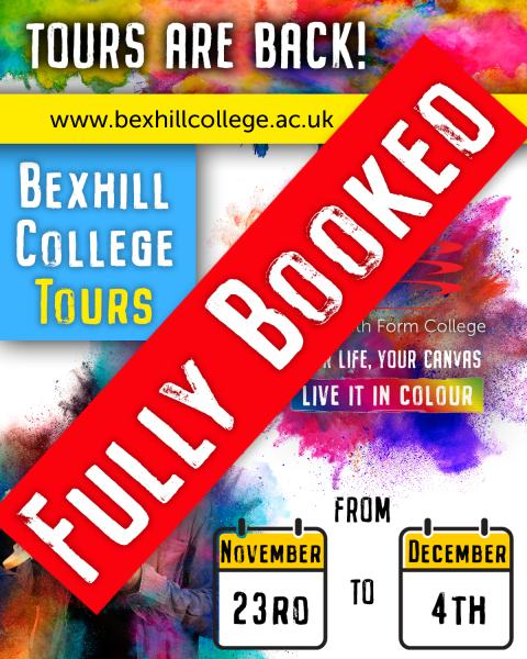 Bexhill College Facilities Tours - More Dates Coming Soon