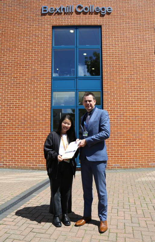 "Business student wins ""Outstanding International Student"" accolade"