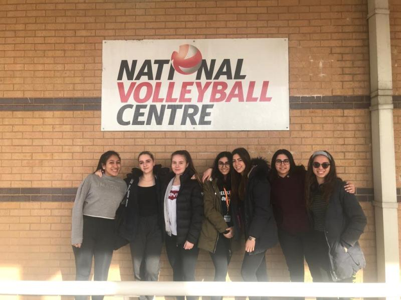 Bexhill College Women's Volleyball Academy through to  National Cup Semi Finals
