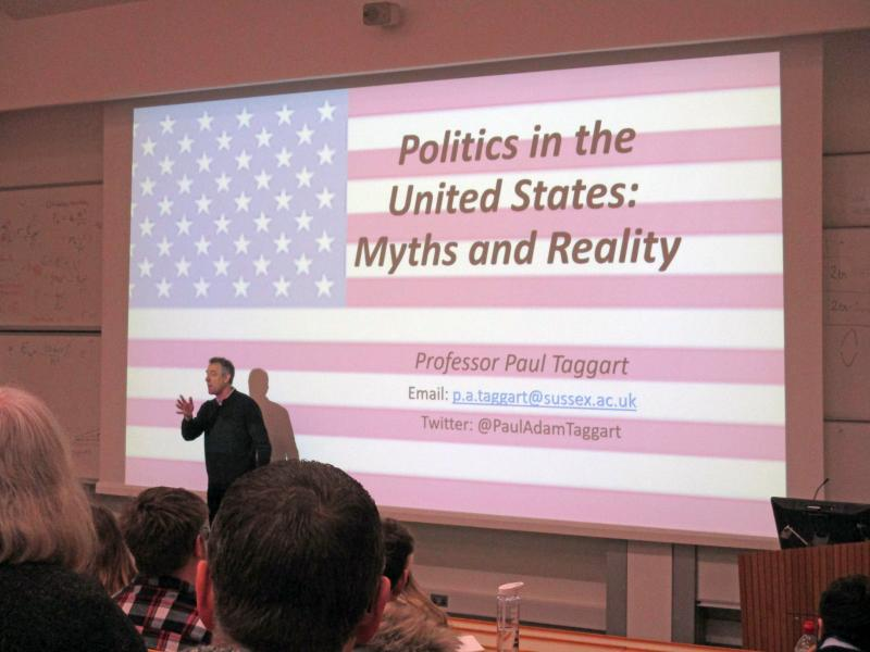 Students Engage in Political Debate