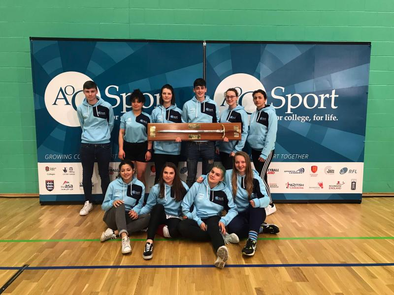 Bexhill College bring home the Wilkinson Sword