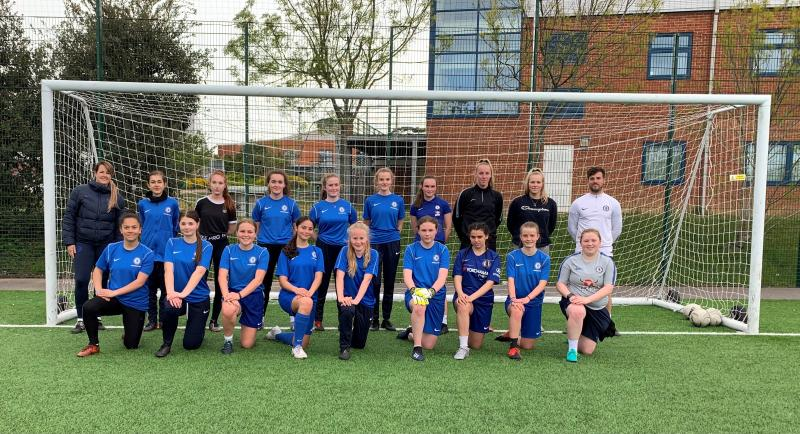 Chelsea Coaches Welcomed at Bexhill College Football Academy