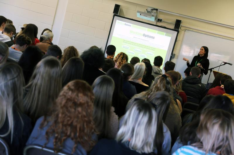 Politics, Economics, Business and Law Section Attended A Careers & Aspirations Seminar