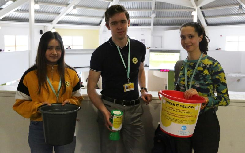 Students show support for St Michael's Hospice