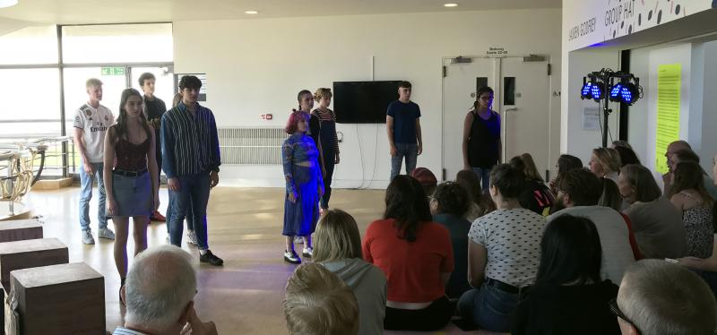 Bexhill College students tour 'Where There Is Smoke' play