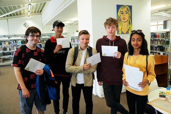 Exam success for Bexhill College