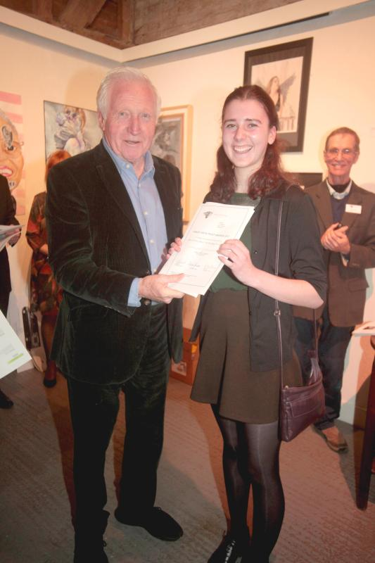 Farley Arts Trust Awards Success for Fine Art Student