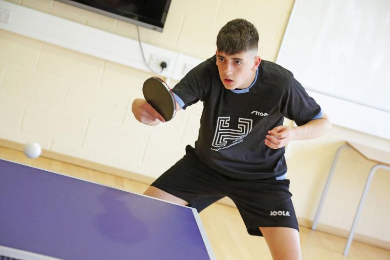 Table Tennis Star Ends College Career on a High