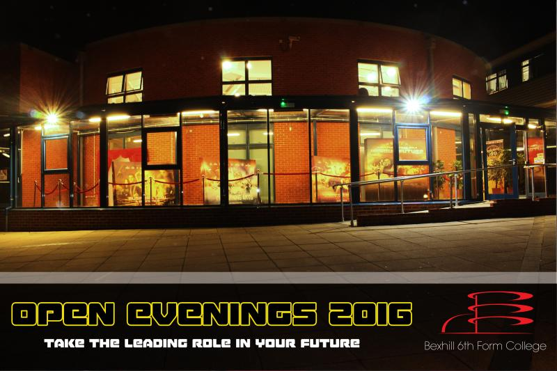 Bexhill College Tours Now Available After Successful Open Evening 'Premieres'