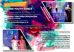 Izzard Youth Theatre Flyer