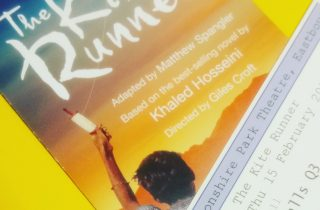 The Kite Runner ticket and flyer