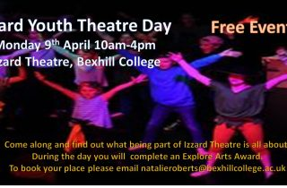 Youth Theatre Day Flyer
